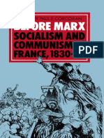 Before Marx