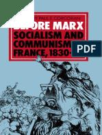 Before Marx