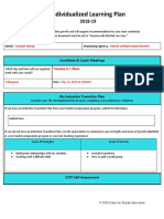 shoup 18-19 individualized learning plan
