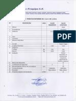 Postes Arequipa - Especificaciones y Planos de Accesorios