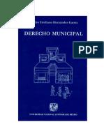 Derecho Municipal - Pedro Emiliano Hernandez Gaona