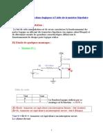 Fonction Logique a Base de Transistor
