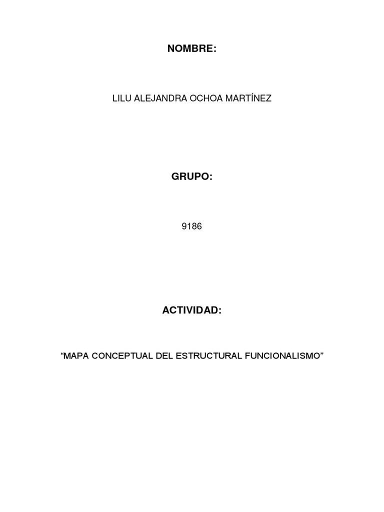 Unidad 2 No Actividad 2 Sociología 1