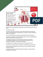 Qué Es La Tuberculosis Trabajp de Biologia Yiyi