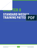Tactical Periodization Weekly Training Pattern and Practice Sample