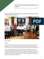 05-11-2018 - Apoya Gobernadora Pavlovich a jóvenes empresarios con casi 2 millones de pesos - elsoldehermosillo