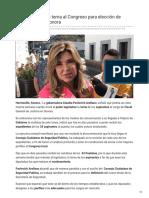05-11-2018 - Pavlovich enviará terna al Congreso para elección de nuevo fiscal en Sonora - Tribuna