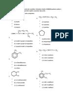 Ejercicios de Quimica Organica