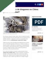 Avistamientos de Dragones en China ¿Mito o Realidad Mitología LA GRAN ÉPOCA