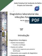 Diagnóstico Laboratorial - infecções fúngicas