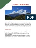 Parque Nacional de Huscaran