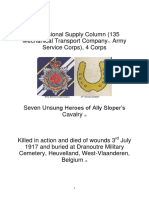 Seven Unsung Heroes of Ally Slopers Cavalry