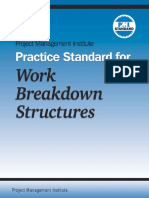 PMI Practice Standard for Work Breakdown Structures