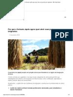 Por Que o Fechado Japão Agora Quer Abrir Suas Portas Para Imigrantes - BBC News Brasil