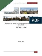TRABAJO DE ANALISIS COMPARATIVO DE CATASTRO URBANOS  TACNA - LIMA
