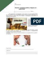 Ficha Lenguaje Poético y Figuras en Publicidad