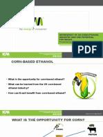 2 - Um Retrospecto Da Indústria de Etanol Norte Americana e o Potencial Para o Brasil - Dave VanderGriend - En Version