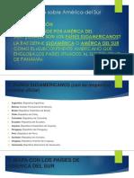 Aprendiendo Sobre América Del Sur