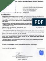 Declaración Jurada ANEXO 11
