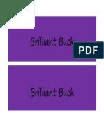 brilliant buck