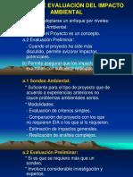 Proceso de Evaluación Del Impacto Ambiental