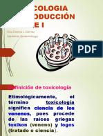 Toxicologìa Introduccion Parte i Cris