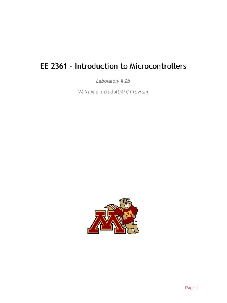 lab2b - iLED extending to C pdf | C (Programming Language