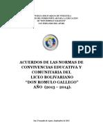 Acuerdo de Convivencia Educativa Romulo Gallegos (3)