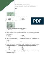 Soal Transformasi Geometri Kelas 9 SMP