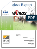 Wimax Project