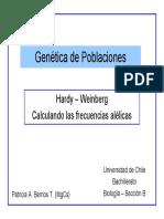 Sesi n 25 Gen Tica de Poblaciones 2011