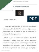 Huilage d'Une Machine à Calculer Curta - Site de Marc Pellacoeur