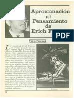 Aproximación al pensamiento de Erich Fromm