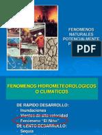f. Fenomenos Naturales, El Niño