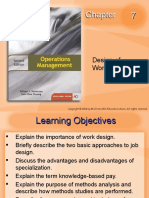 OM2E Chapter07 Design of Work Systems