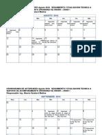 Cronograma Agosto Oct2018