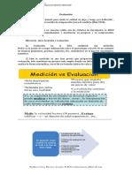 Evaluación y el DUA