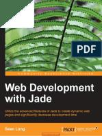 web developer with jade