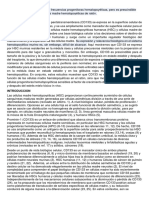CD133 Es Un Modificador de Las Frecuencias Progenitoras Hematopoyéticas 3 Control