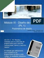 Módulo IX - Diseño (Pt. 1)