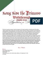 172179 Long Live the Princess Walkthrough Version 0.13.0