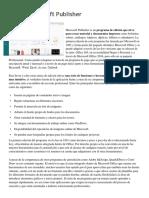 Qué Es Microsoft Publisher