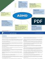 Infografia del Rol de los micronutrientes en ADHD