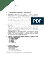 Cuestionario Régimen de la Propiedad I UAM