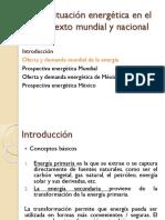 Situación Energética en el Contexto Mundial y Nacional