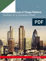 Oracle's Internet of Things Platform