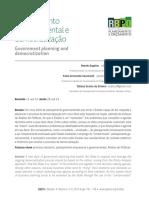 [Texto 6] SD2 - Planejamento Governamental e Democratização