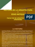 Historia de La Arquitectura i Ppt
