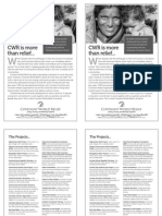 CWR Fall Bulletin Insert, black and white