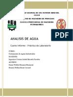 Informe Analisis de Aguas